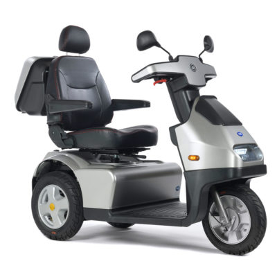 Breeze S3 8MPH Mobility Scooter Silver Side