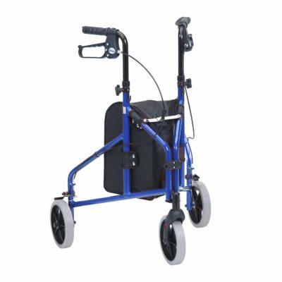 Drive 3 wheel walker blue