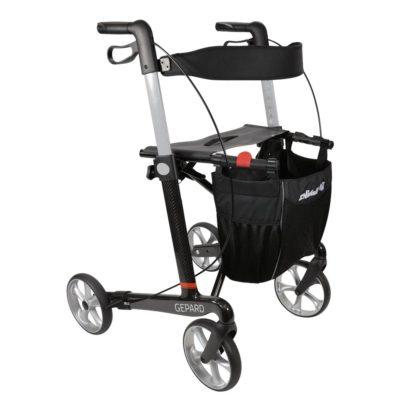 Gepard 4 Wheel Walker Carbon Fibre Main