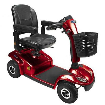 Invacare Leo Mobility Scooter Red Main