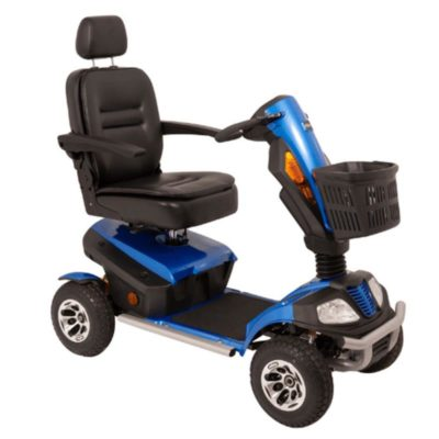 Komfi Rider President 8MPH Mobility Scooter Blue