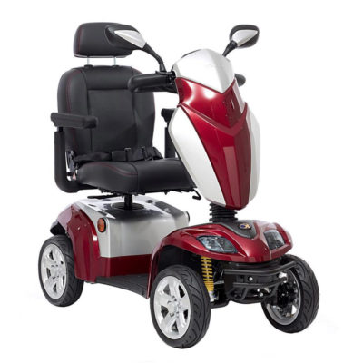 Kymco Agility Mobility Scooter 8MPH Red Main