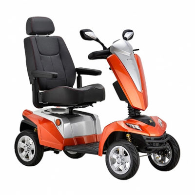 Kymco Maxer 8MPH mobility Scooter Orange