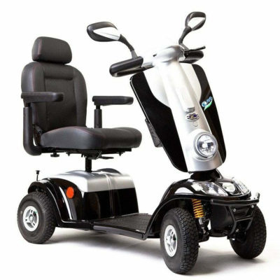 Kymco Maxi XLS Mobility Scooter 8MPH Black Front