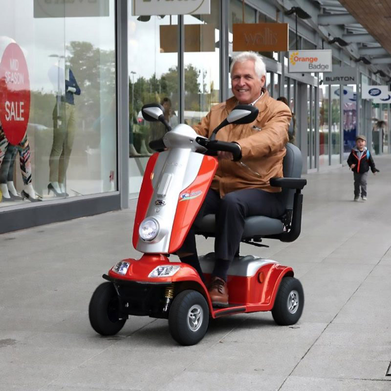 Kymco-Midi-XLS-Mobility-Scooter-8mph-Lifestyle-Orange-800x800