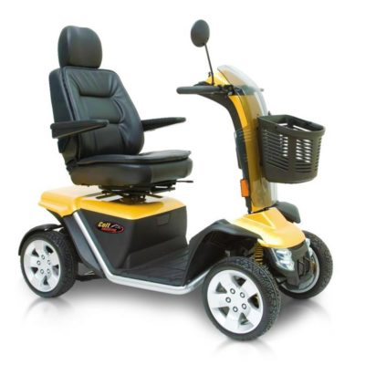 Pride Colt Executive 8MPH Mobility Scooter Yellow