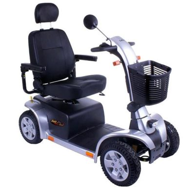 Pride Colt Pursuit ES13 Mobility Scooter Silver Grey 8MPH