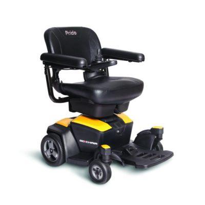 Pride Go-Chair 2 Electric Wheelchair Powerchair Yellow