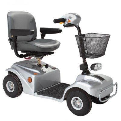 Rascal 388S Mobility Scooter Silver Grey