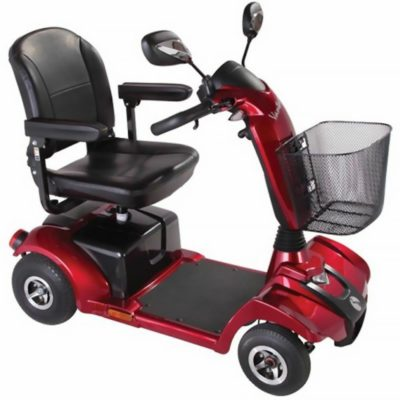 Rascal Vantage X Mobility Scooter Red