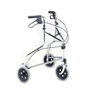 Roma 3 Wheel Walker Silver Chrome Main