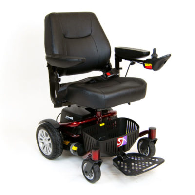 Roma Reno Elite Electric Wheelchair Powerchair Red