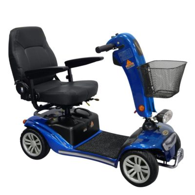 Shoprider Valencia Transportable Mobility Scooter Blue