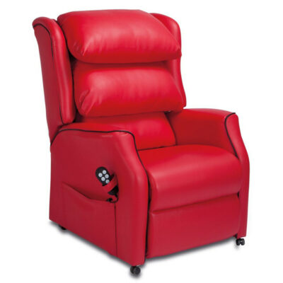 Camelot Matrix Red Reclining Chair 1