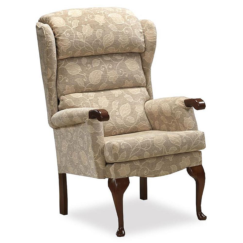 Royams Bristol Victoria Camel Fireside Chair Main
