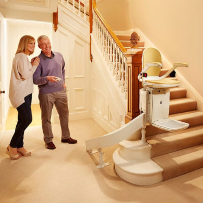 Brooks Curved Stairlift Main