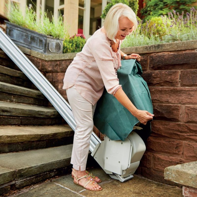 Brooks, Outdoor Stairlift