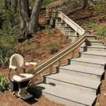 Bruno, Elite Curved Outdoor Stairlift