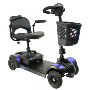 Drive Adventurer Mobility Scooter Blue Front
