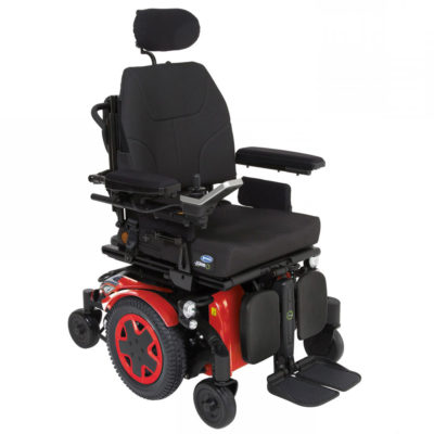 Invacare TDXSP2 Electric Wheelchair Powerchair Red Main
