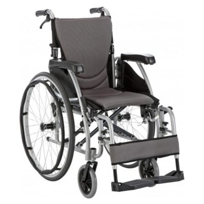 Karma S Ergo 125 Self Propel Wheelchair Silver