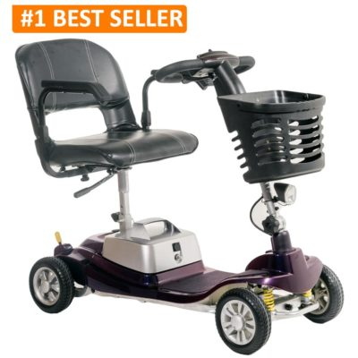 Komfi Rider Illusion Travelite Transportable Mobility Scooter Best Seller