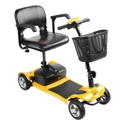 Kymco K-Lite Comfort Transportable Mobility Scooter Yellow Main
