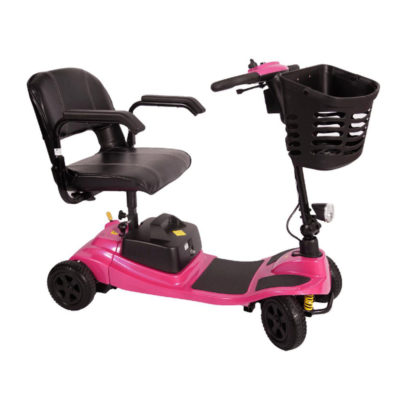 Liberty Vogue Transportable Mobility Scooter Pink Main