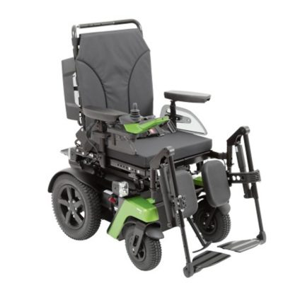 Otto Bock Juvo Electric Wheelchair Powerchair Rear Wheel Drive Green