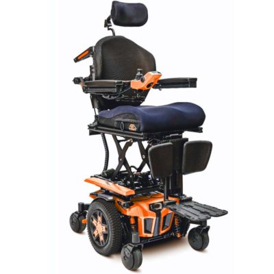 Pride Edge 3 Electric Wheelchair Powerchair Orange