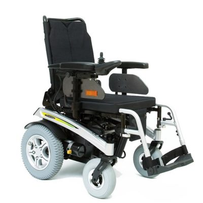 Pride Fusion Electric Wheelchair Powerchair Silver Main