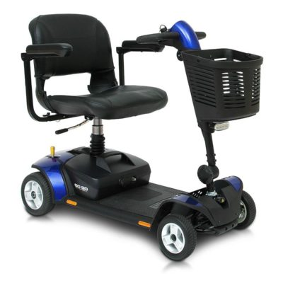 Pride GoGo LX Transportable Mobility Scooter Blue