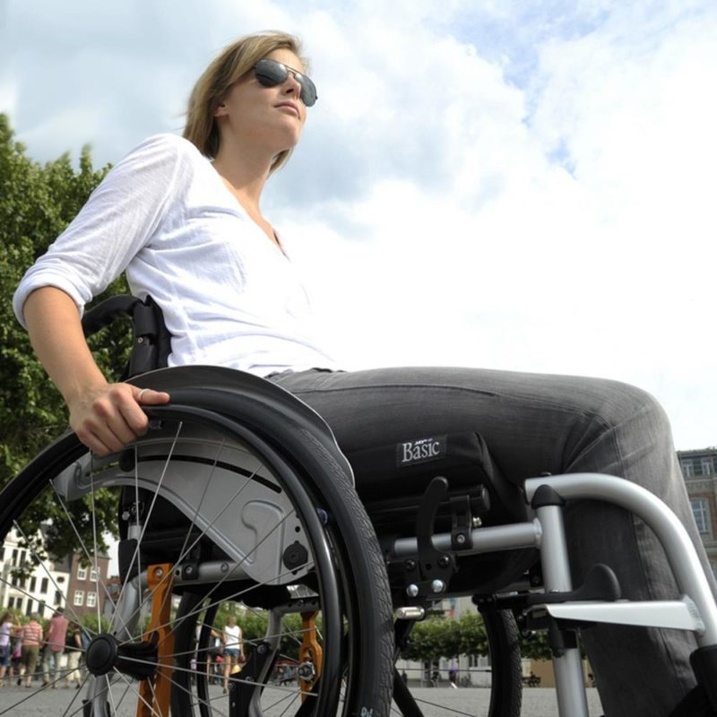 Quickie, Life active user wheelchair