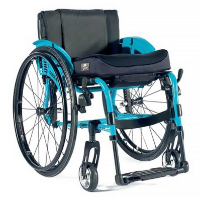 Quickie Life Active User Wheelchair Spearmint Blue