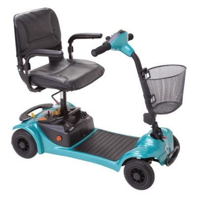 Rascal Ultralite 480 Transportable Scooter Green Blue