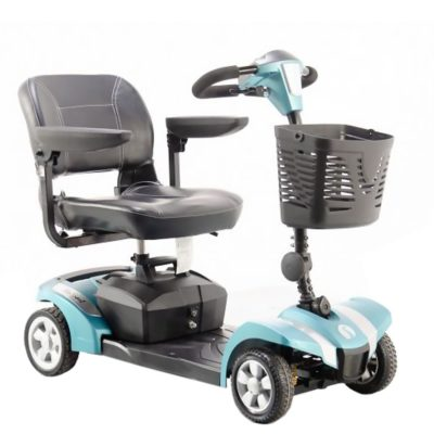 Rascal Veo Sport Transportable Mobility Scooter Blue Green