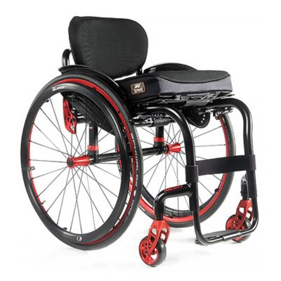 Sunrise Helium Wheelchair Red Main
