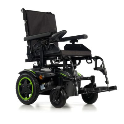 Sunrise Quickie Q100R Electric Wheelchair Powerchair Green