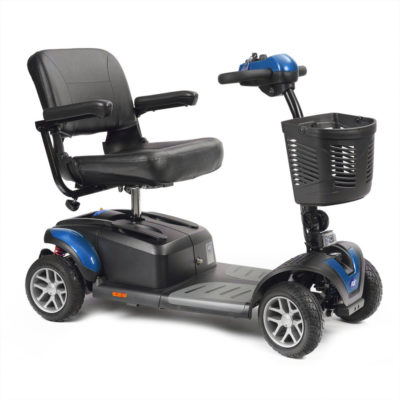 TGA Zest Plus Transportable Mobility Scooter Blue Main