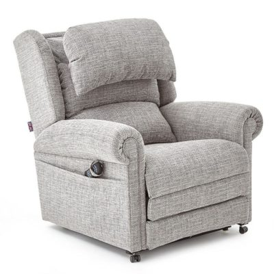 Pride Dorchester Grey Recliner Chair