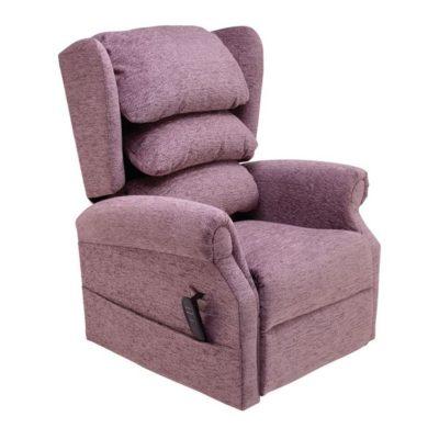 Cosi Ellen Plum Reclining Chair
