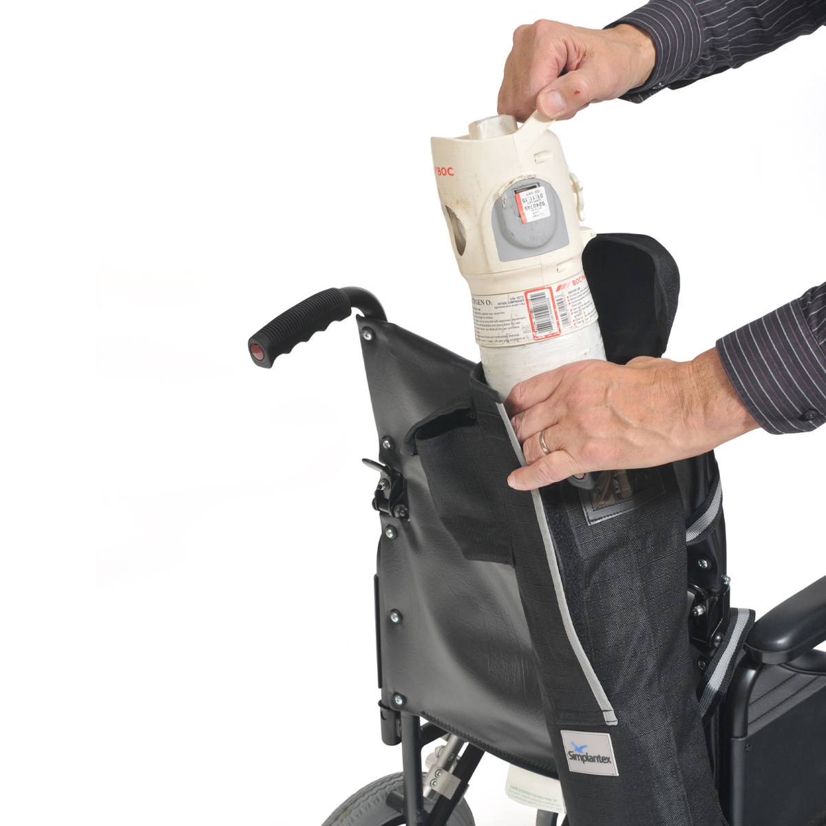 Oxygen Cylinder Carry Bag For Scooters