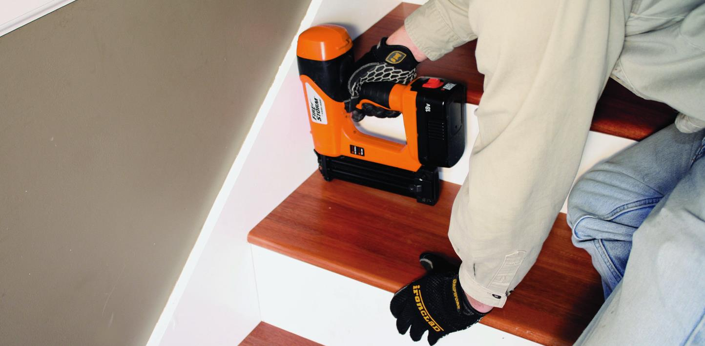 Orange Badge Adjusting Stairs