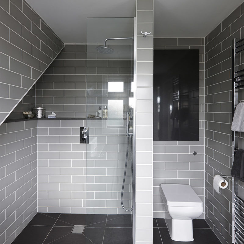 Level access showers