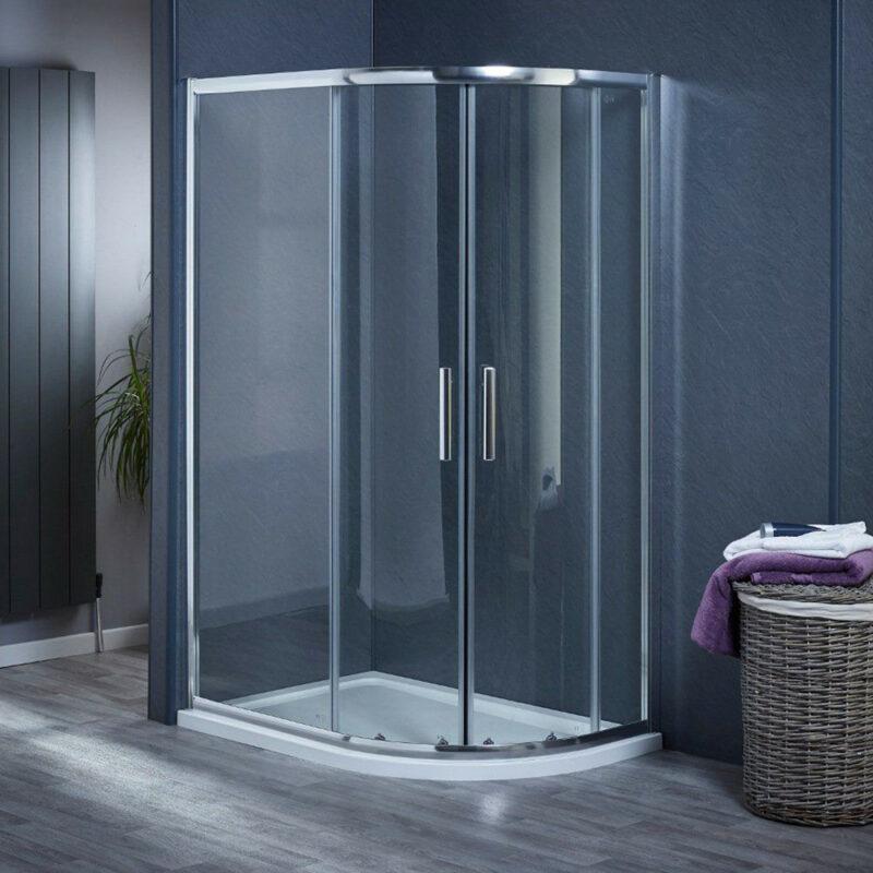 Low threshold showers