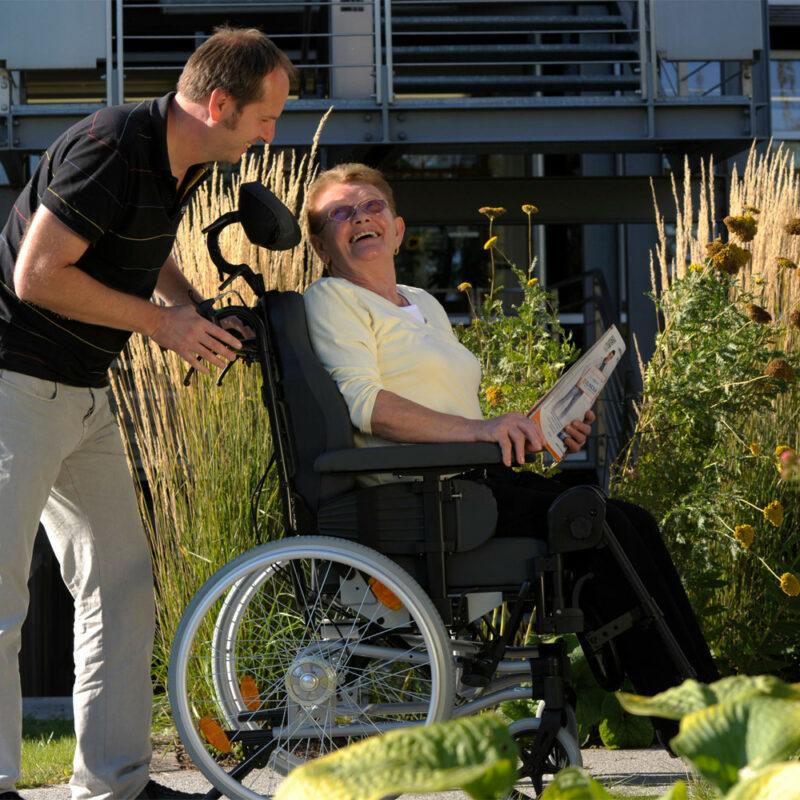 Sunrise, Breezy Relax 2 passive wheelchair
