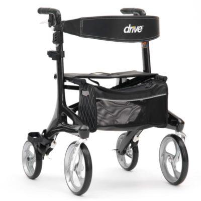 Drive Nitro Elite Carbon 4 Wheel Walker