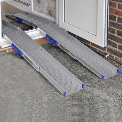 Enable Access Ramp Centre Ultralight Combi Folding and Telescopic Channel Ramps