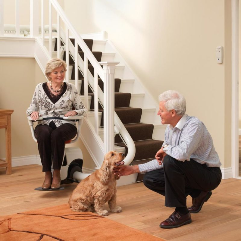 Flow Stairlift Lifestyle Couple