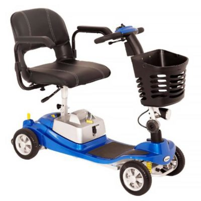 Komfi Rider Illusion Travelite Transportable Mobility Scooter Blue 800x800
